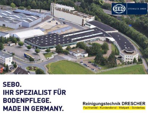 Reinigungstechnik Robert Drescher ist nun offizieller SEBO Fachhandelspartner
